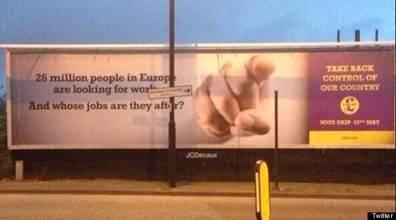 Ukip Paid Eastern Europeans To Give Out Leaflets As 'They're