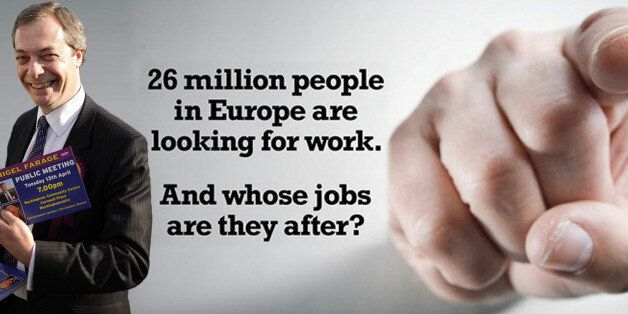 Ukip faces hypocrisy accusations for using a firm which uses Eastern Europeans to distribute