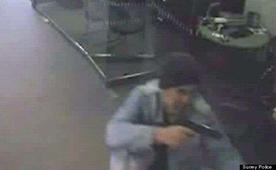 'Skull Cracker' Michael Wheatley Wields Gun In Building Society Raid