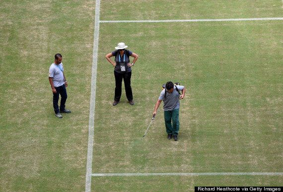 England V Italy: Manaus Stadium Pitch Branded