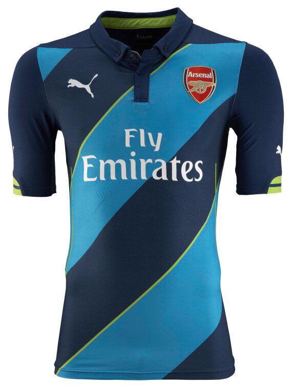 Arsenal New Kit: Gunners Unveil 2014-15 Puma Strip