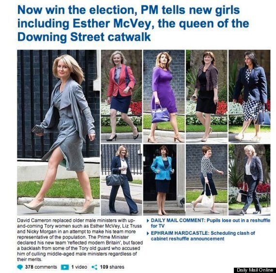 Esther McVey Defends 'Demeaning' Daily Mail's Cabinet Reshuffle Coverage... Paper's Own Staff Are