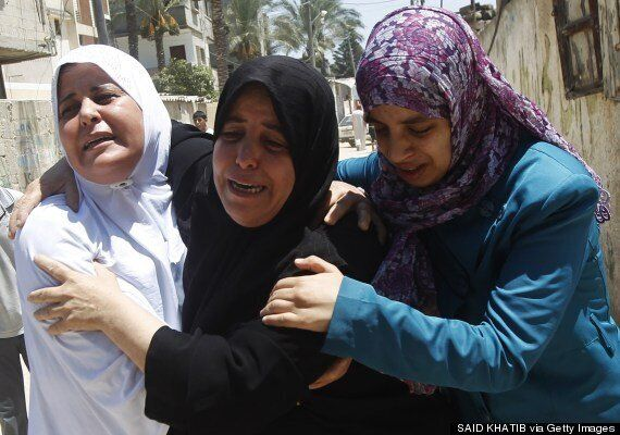 Gaza Offensive Claims Lives Of More Than 100 Palestinians In Just One