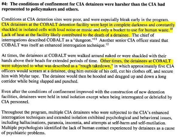CIA Torture Report: The Lid