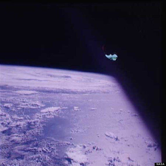 UFO Spotted During Apollo 7, Astronauts Redact Truth With Duct