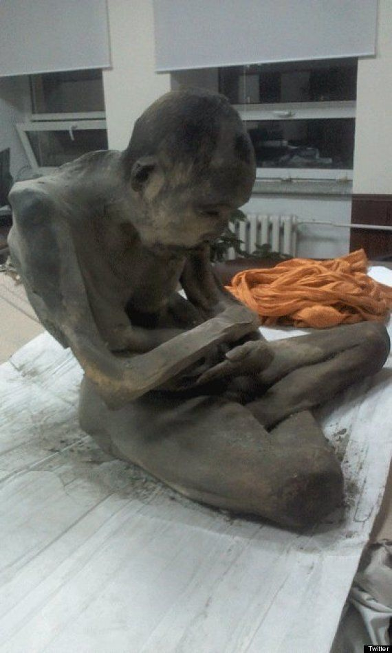 Mummified Mongolian Monk Is Not Dead, He Has Been Meditating For 200 Years, Experts