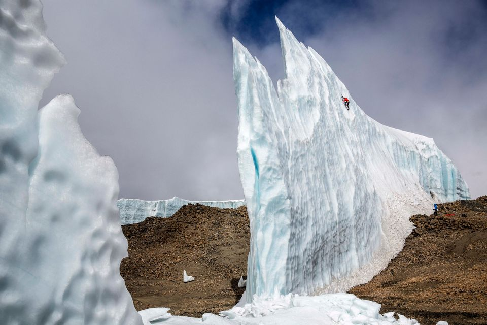 Ice Climber Will Gadd's Incredible Ice Climb In Africa Before The Natural Phenomenon