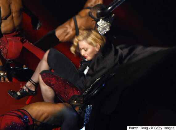 Madonna Admits Brits Stage Fall Left Her With Whiplash: 'It Was A Nightmare, I Created A Horror