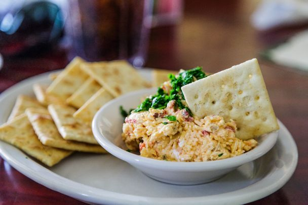 Pimento cheese, Kentucky beer cheese and Mississippi Sin Dip all need to be a part of your