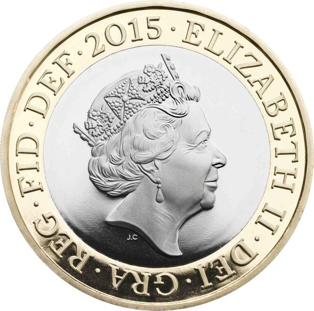 The Queen's New Portrait For UK Coins