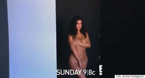 Kim Kardashian Naked: 'Keeping Up With The Kardashians' Star Goes Nude (Again) In Trailer For New Series