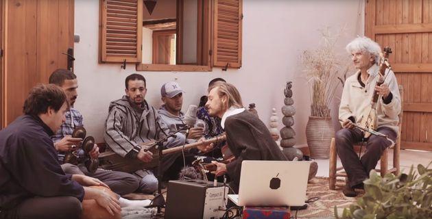 Le chanteur Frànçois Atlas fusionne avec le maâlem Saïd