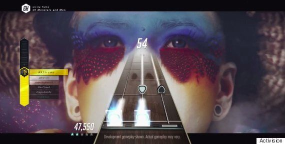 Remember Guitar Hero? It's Back And This Time It's Putting You On A Real