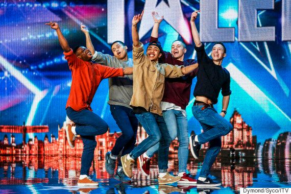 'Britain's Got Talent': Boyband Receive Golden Buzzer From Ant And Dec For 'Uptown Funk' Audition