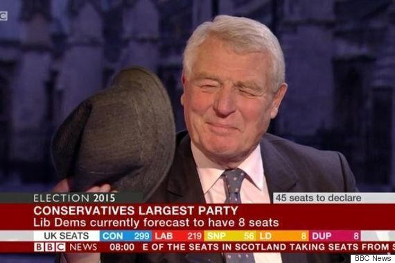 Paddy Ashdown Refuses To Eat His Hat After Dismal General Election Result For Liberal