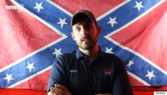 Florida Gun Shop Owner Andy Hallinan Declares His Business A 'Muslim-Free'