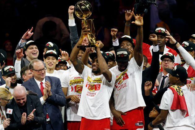 Toronto Raptors Celebrate NBA Win With Their Adorable Kids