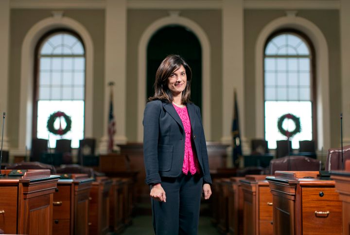 Maine House Speaker Sara Gideon is the daughter of an Indian immigrant father and a second-generation Armenian American