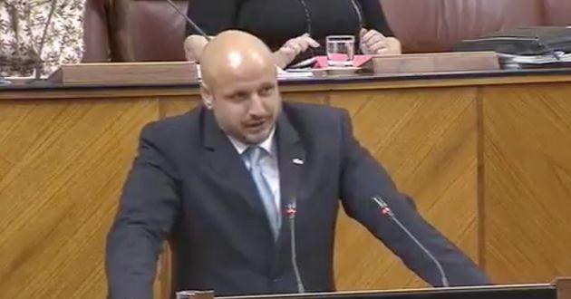 Rodrigo Alonso, diputado de Vox en el Parlamento de