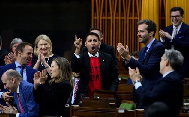 Arif Virani Leads House Of Commons In Lets Go Raptors Chant After NBA Title