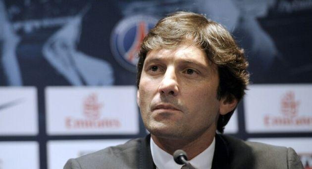 Leonardo alors directeur sportif du PSG en conférence au Parc des Princes le 18 juillet