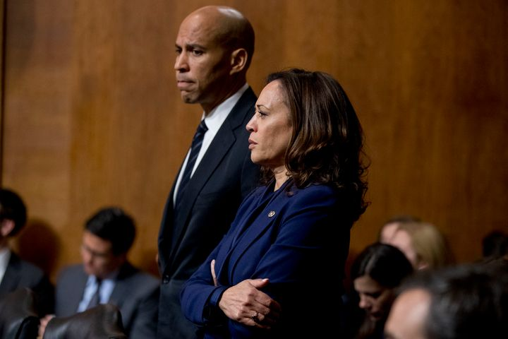 Sens. Cory Booker and Sen. Kamala Harris have published plans to give tax credits to rent-burdened families, but have not pro