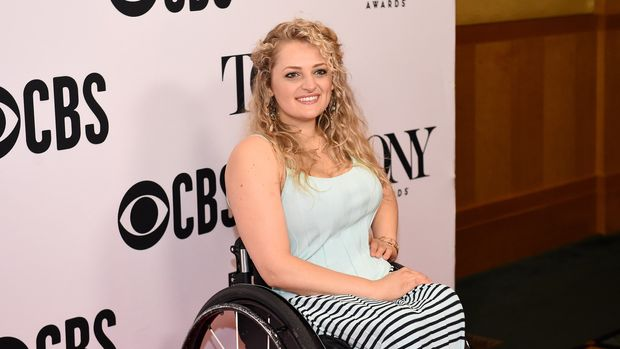 NEW YORK, NEW YORK - MAY 01: Ali Stroker attends The 73rd Annual Tony Awards Meet The Nominees Press Day at  Sofitel New York on May 01, 2019 in New York City. (Photo by Ilya S. Savenok/Getty Images for Tony Awards Productions)