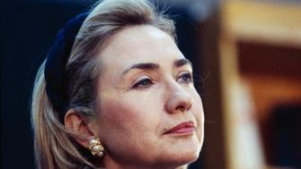 WASHINGTON - NOVEMBER 13:  (NO U.S. TABLOID SALES)  U.S. First Lady Hillary Clinton attends an event at the White House November 13, 1997 in Washington D.C.  (Photo by David Hume Kennerly/Getty Images)