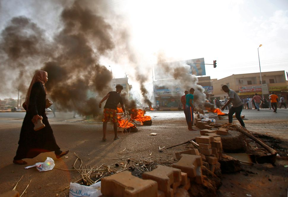 Protests against the military rule in Sudan have emerged since Omar al-Bashir's ouster, calling on a transition to a civilian government.