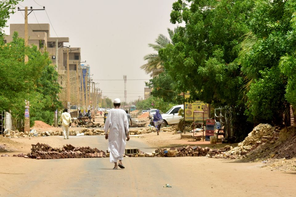 Much of Khartoum is under the control of the Rapid Support Forces (RSF), while the internet is shut down...