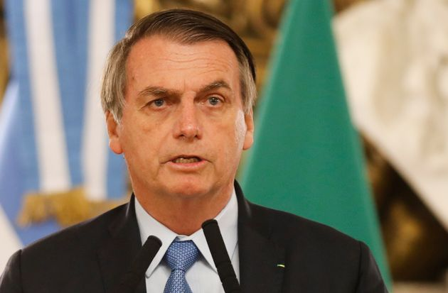 Jair Bolsonaro à Buenos Aires, enArgentine, juin