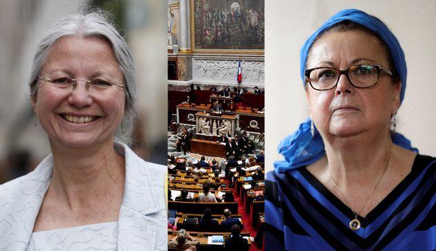 Christine Boutin soutient Agnès Thill contre le