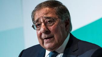 WASHINGTON, DC - OCTOBER 23: Leon Panetta, former U.S. Defense Secretary and former director of the Central Intelligence Agency, speaks during a discussion on countering violent extremism, at the Ronald Reagan Building and International Trade Center, October 23, 2017 in Washington, DC. The program was focused on issues of extremism in the Middle East, including Qatar, Iran and the Muslim Brotherhood. (Photo by Drew Angerer/Getty Images)