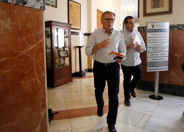 Cambio histórico en Melilla: el único diputado de Cs, nuevo presidente tras 19 años del