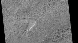 La NASA explique pourquoi un logo Star Trek a été retrouvé sur