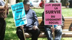 Protesters Denounce Montreal's Housing