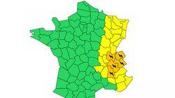 5 départements en alerte orange aux orages, Météo France prévoit grêle et vents