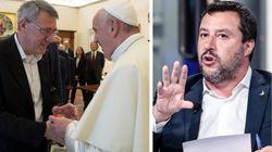Salvini no, Landini sì. La polemica di Libero contro il