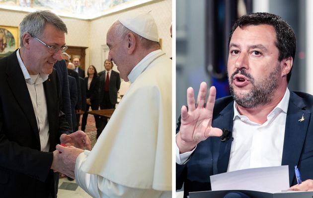 Papa Francesco incontra Landini, ma non Salvini. La polemica di