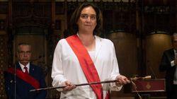 Ada Colau, reelegida alcaldesa de Barcelona con los votos del PSC y
