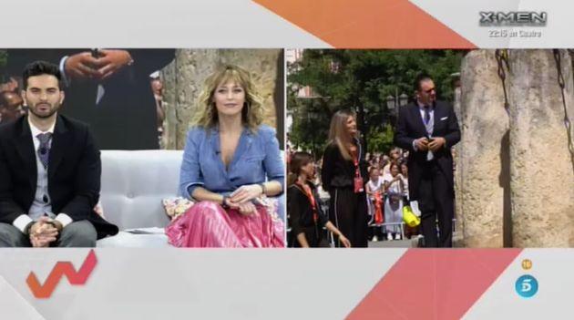 Viva La Vida durante la boda de Sergio Ramos y Pilar