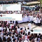 Sur les réseaux sociaux, les étudiants en médecine s'affrontent à coup de