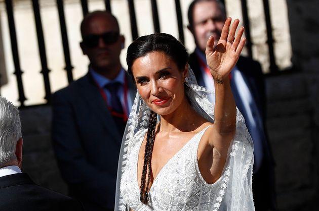 ENCUESTA: ¿Te gusta el vestido de novia de Pilar