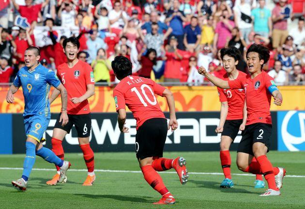 대한민국이 U-20 월드컵 2위를