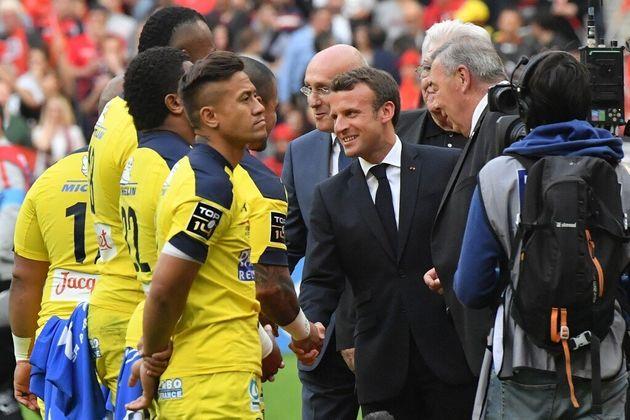 Finale du Top 14: au Stade de France, Macron n'a pas été