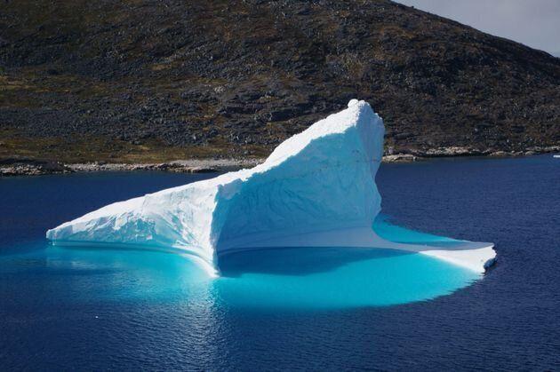 Au Groenland, 2 milliards de tonnes de glace ont fondu en un