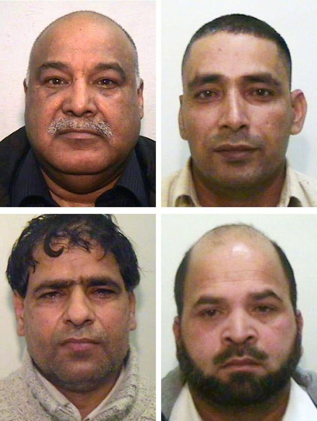 Clockwise from top left) Shabir Ahmed, Adil Khan, Qari Abdul Rauf and Abdul