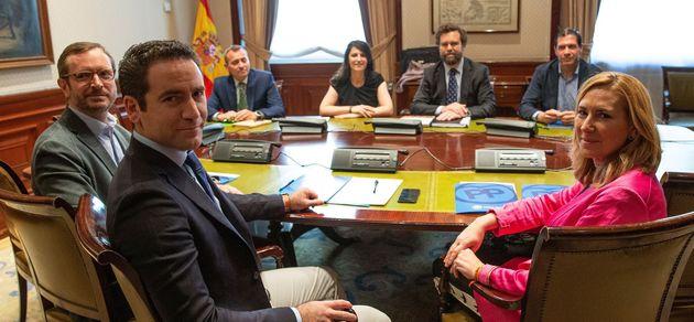 García Egea, reunido con Vox en el