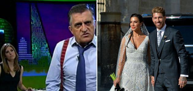 Un guionista de 'El Intermedio' arrasa con este hilo sobre la boda de Sergio Ramos y Pilar