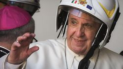 La visita del Papa nelle zone terremotate di Camerino: